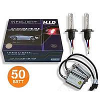 Комплект ксенона H3 4300K Infolight 50W
