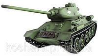 Танк р/у 1:16 Heng Long T-34 2.4GHz с пневмопушкой и дымом