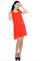 "Красное короткое платье ""MALIBU"""