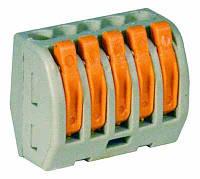 Клемма 2 провода, 2,5 мм2