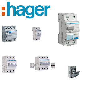 Hager (Германия) - Автоматы УЗО Дифференциальные автоматы Автоматические выключатели Автоматика