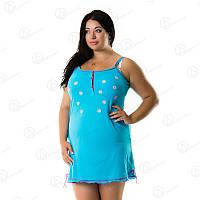 Домашний сарафан-платье для дома батал купить оптом Турция  DRM9033 домашняя одежда для дома