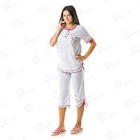 Комплект недорого майка + бриджи купить стильные женский домашние комплекты Турция  DRM8006 домашняя одежда для дома