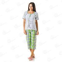 Красивый домашний комплект двойка футболка + бриджи Турция  DRM2212 домашняя одежда для дома
