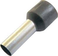 Изолированный кабельный наконечник, втулочный, 1 мм2, красный, 100 шт.