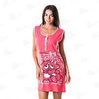 Модная туника для дома Dalmina норма Турция DLMN5010 купить домашние платья-туники оптом недорого