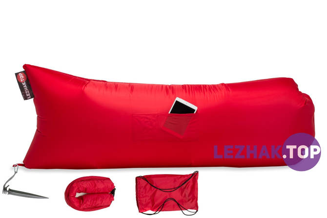Надувной лежак Ламзак / lamzac - Красный