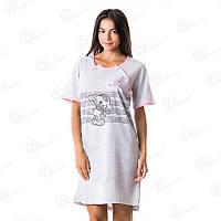 Турецкая домашня туника Dalmina от производителя Турция  DLMN7015 купить домашние платья-туники оптом недорого