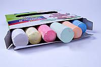 """Мел цветной асфальтный """"Jumbo"""" 8 цветов/упаковка,№7402, мелки детские"""