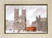 Набор для вышивания крестом Crystal Art Лондон. Вестминстерское аббатство