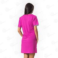 Недорогая ночная рубашка-туника Kiss Dalmina норма Турция  DLMN6604 купить пижаму, домашние комплекты оптом недорого