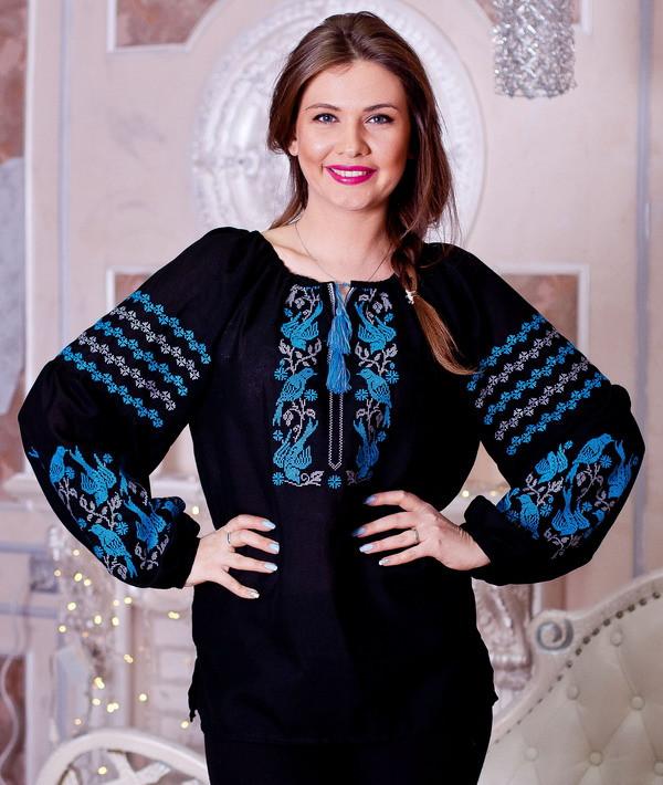 Жіноча вишиванка Ластівки  продажа 0aaf90cef57ed