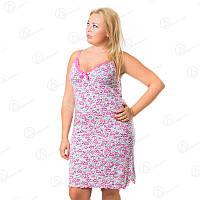 Ночная рубашкаVetex Carolina батал Турция  KRLN2565 купить ночнушки больших размеров оптом недорого