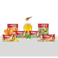 Леденцы от кашля Хонитус, Дабур (имбирь-мед , лимон-мед , мед-тульси)