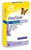 Тест-полоски FreeStyle Optium β-Ketone (Бета-Кетон), 10 шт. (США)
