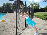 Детский защитный забор. Ограждение для бассейна. Забор для бассейна. Ограждение вокруг бассейна