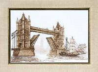 Набор для вышивания крестом Crystal Art Лондон. Тауэрский мост