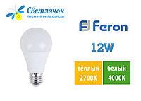 Светодиодная лампа Feron LB-712 12W E27