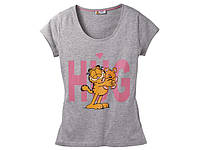 Футболка женская на девушку оригинал Garfield Odie L 44 46