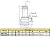 Дренажно-фекальный насос Rudes DRF750F, фото 3