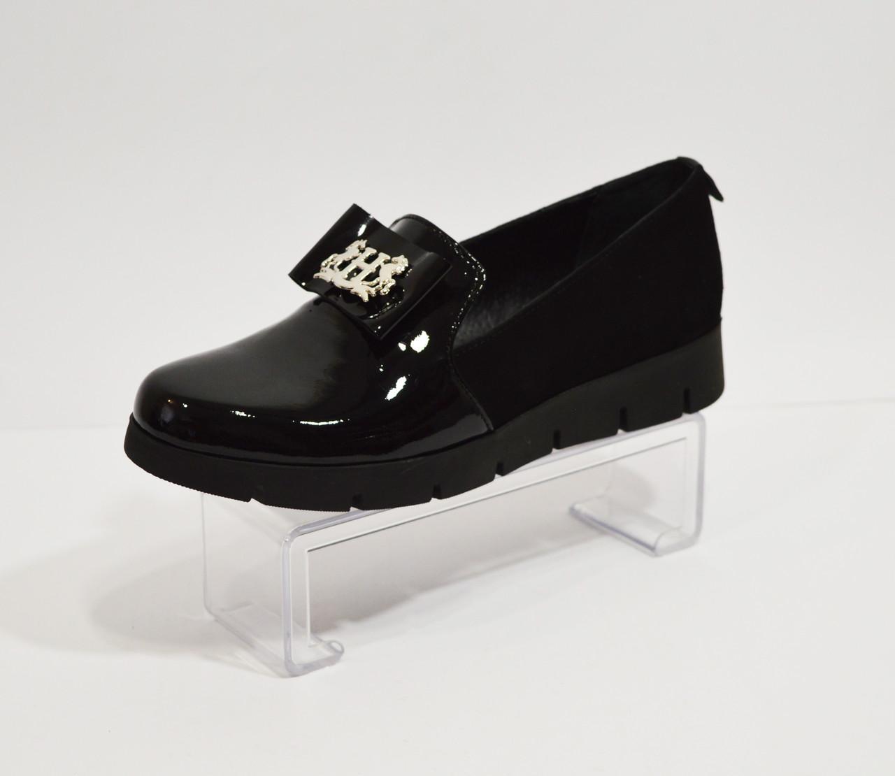 Черные женские туфли Liliya 25