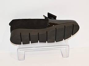 Черные женские туфли Liliya 25, фото 3