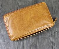 Клатч портмоне Marrant 9043LBr светло-коричневый кожа