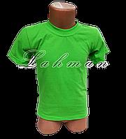 Футболка зелёная