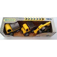 """Набор машинок строитель """"Kid cars"""", 3шт, 39270"""