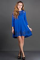 Платье Летисия - электрик: 44,46,48,50,52