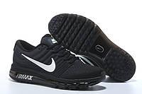 Кроссовки Nike Air Max 2017 Black Light Grey White