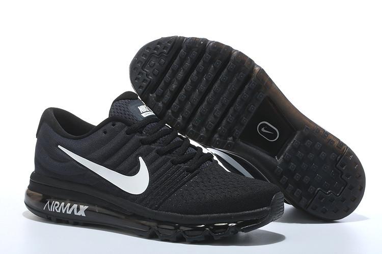 ef03abef Кроссовки Nike Air Max 2017 Black Light Grey White - Интернет магазин обуви  «im-