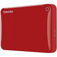 """HDD ext 2.5"""" USB 2.0TB Toshiba Canvio Connect II Red (HDTC820ER3CA)"""
