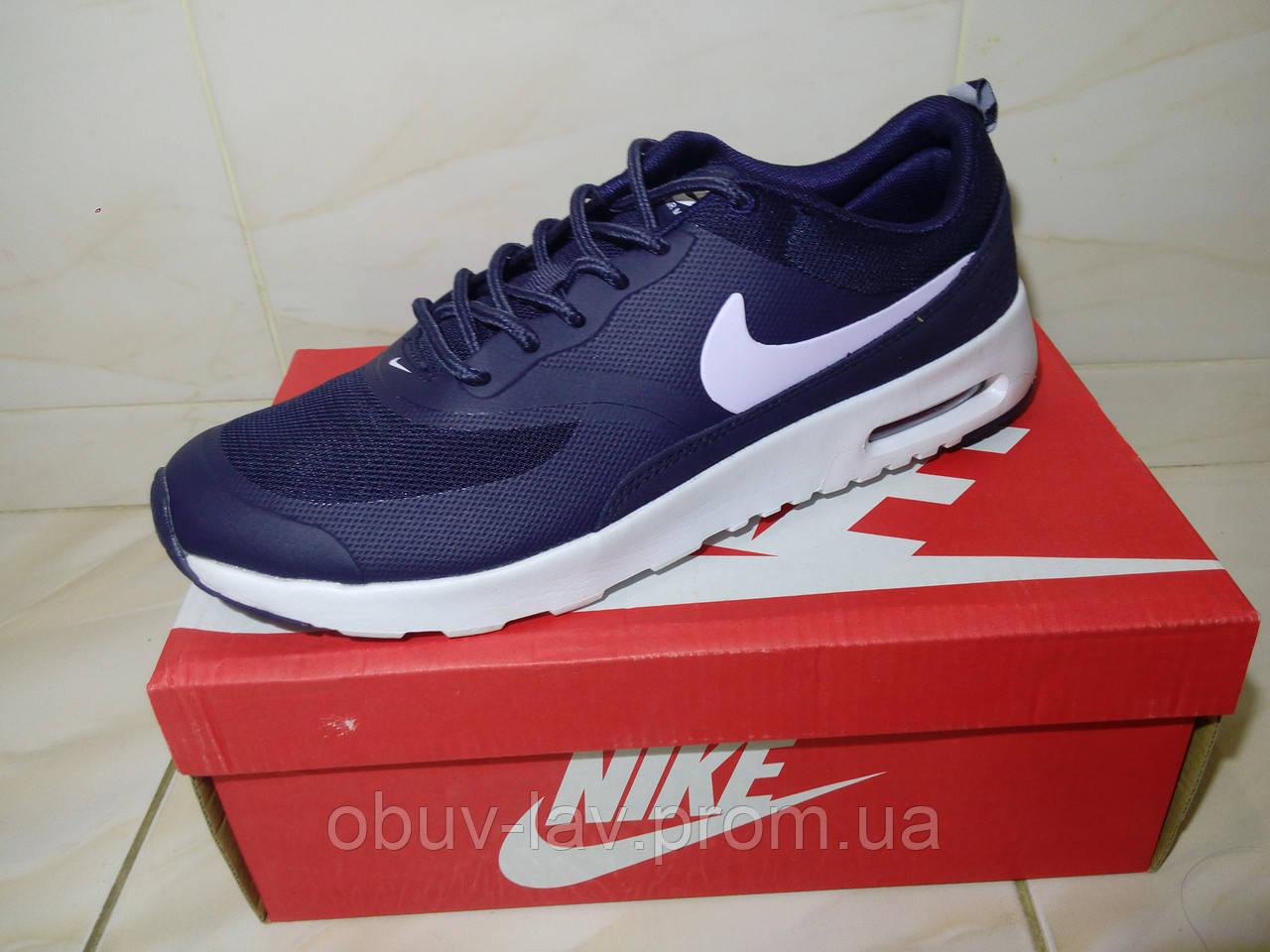 3f7cc8d1 Мужские кроссовки Nike Air Max Thea синие - Интернет-магазин спортивной  обуви