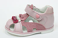 Детские кожаные босоножки для девочки Том.М, 20-25