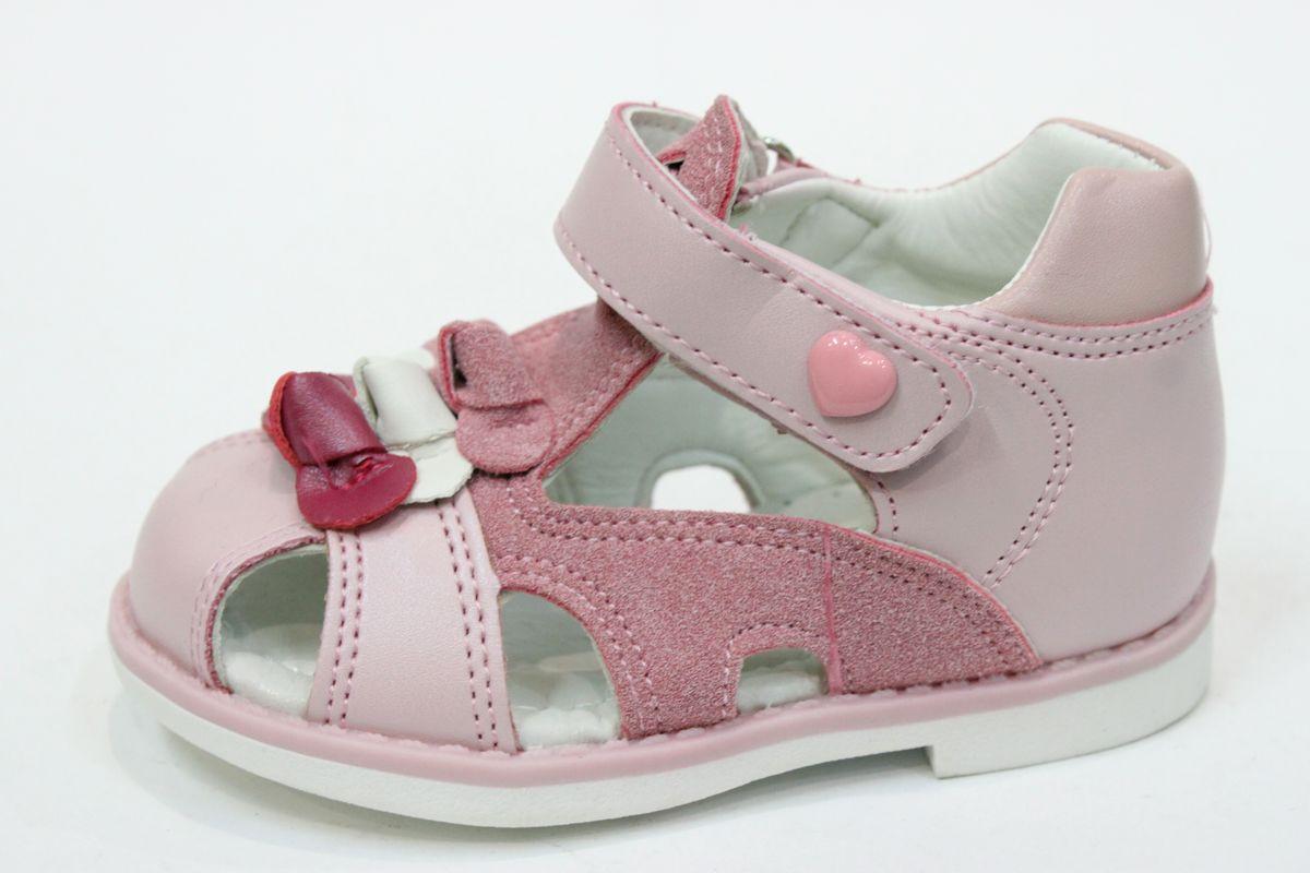 Детские кожаные босоножки для девочки Том.М, 25
