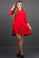 Платье Летисия - красный: 44,46,48,50,52