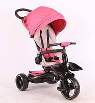Велосипед-коляска Stokke Modi Crosser T 600 (6 до 1), рожевий