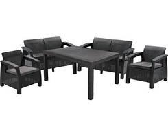 Комплект Садовой мебели Corfu Fiesta Curver 2+2