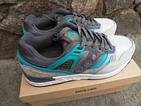 Подростковые кроссовки Saucony G.R.I.D. Приятный очень красивый сине серый цвет. Новинка