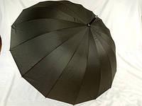 Однотонный зонт трость на 16 спиц № 1665 от Swifts