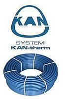 Труба для теплого пола KAN-therm Blue Floor PE-RT с антидиф. защитой, D=16x2,0 мм. (Польша)