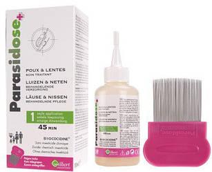 Противопедкулёзное средство Gilbert Laboratories Parasidose+ Lice&Nits Treatmen Care