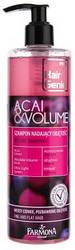 """Шампунь """"Асаи и Объем"""" Farmona Hair Genic Acai And Volume Volume Shampoo, 400 ml."""