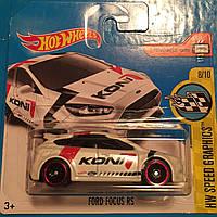 Базовая машинка Hot Wheels Ford Focus RS