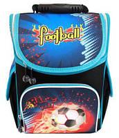 Ранец школьный ортопедический каркасный Smile Футбольный мяч