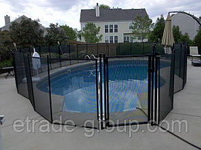 Ограждение для бассейна. Детский забор для бассейна