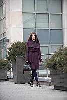 Пальто кашемировое с воротником
