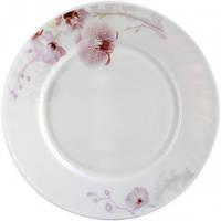 Тарелка 23 см Розовая орхидея