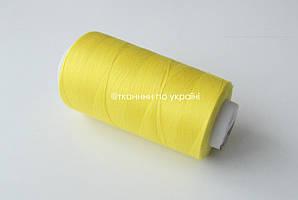 Нитки швейные 50/2, 4200 ярдов Желтый